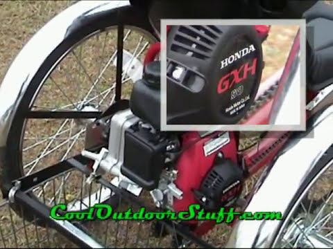 Cool Outdoors Motorized Bicycle PAV3-01
