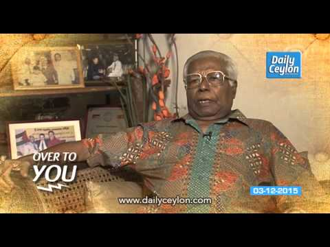 """Daily Ceylon - """" Over to You """" 