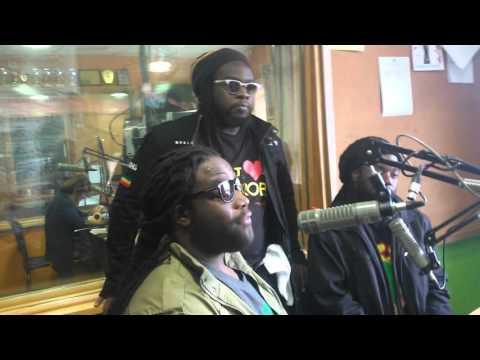 Morgan Heritage In The Radio Jambo Studio Part 3