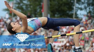 Best 14 in the women's high jump in IAAF Diamond League history