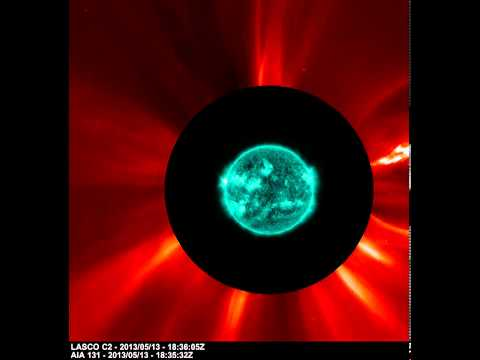 Three X-Class Solar Flares Recorded by Two Spacecraft | NASA ESA Space Science HD