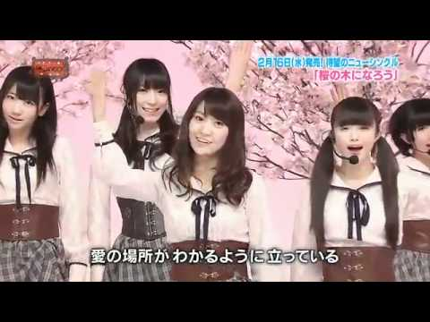 Akb48 - Sakura No Ki Ni Narou