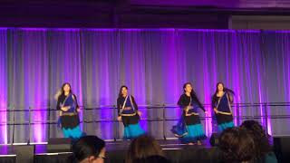 Bollywood Dance at Stonehill College DiverCity 2018