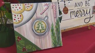 Painting with a Twist a good spot for creative Christmas gifts
