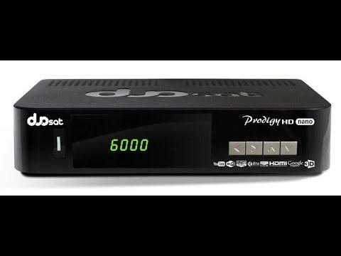 Duosat Prodigy HD Nano e Seus recursos :)