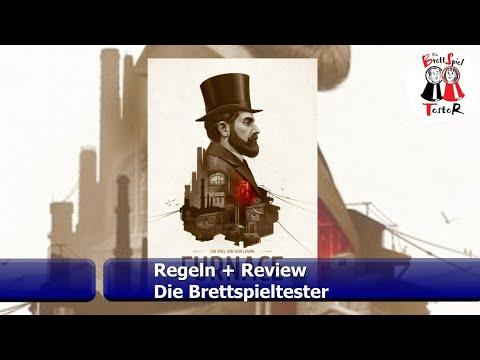 Furnace vom Kobold Spieleverlag - Regeln + Review - Brettspiel - Die Brettspieltester