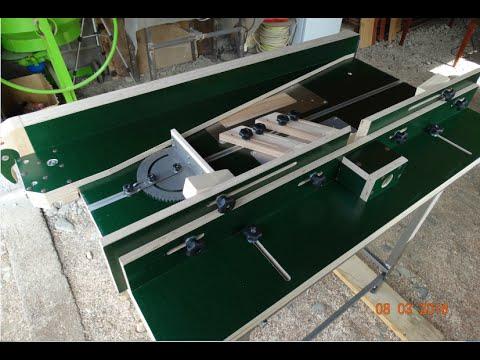Комбинированный фрезерный и циркулярный стол. Вариант 1.