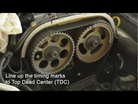 Astra Turbo (z20let) Timing Belt Install - Part 1 of 2