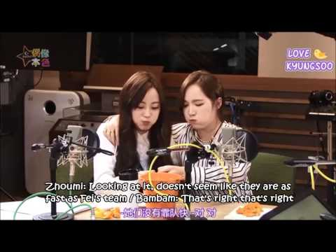 [ENG] 150328 C-Radio (Idol True Colors): Jackson, Youngji & Bambam FULL (Jackji)