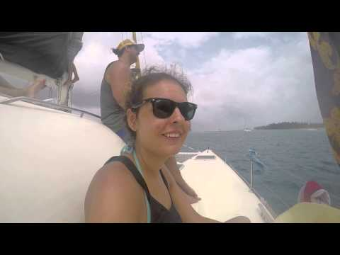 Sailing from Colombia to Panama