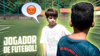 TEVE BRIGA NO PRIMEIRO DIA DE TREINO!! - ( JOGADOR DE FUTEBOL ) #3