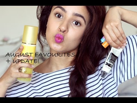 August beauty favourites | hair, makeup & skincare
