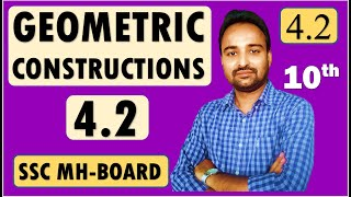 SSC Class 10 | Geometry Chapter 4 Geometric Constructions | Practice Set 4.2