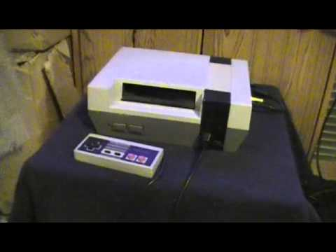 Blowing on an NES game to get it working!