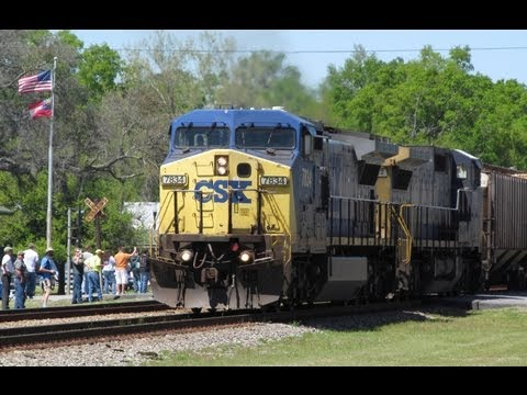 [HD] Railwatch 2013 - Folkston, GA, Saturday April 6, 2013 Part 1