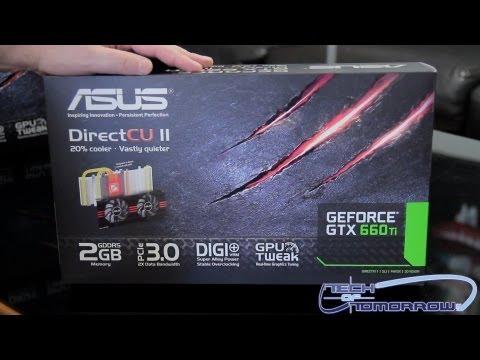 Asus GeForce GTX 660 Ti DirectCU II Unboxing
