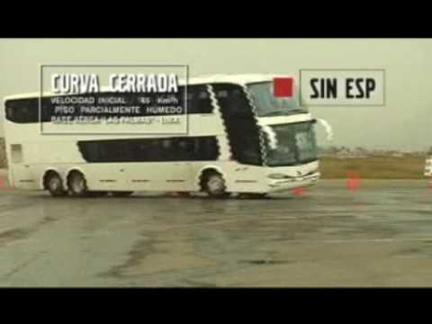 Test Volvo B12R I-Shift Cruz del Sur Perú