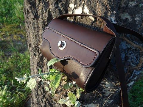 Работа с кожей, женская сумочка. Woman leather bag