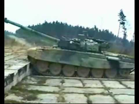 T 72M4CZ MBT In Action