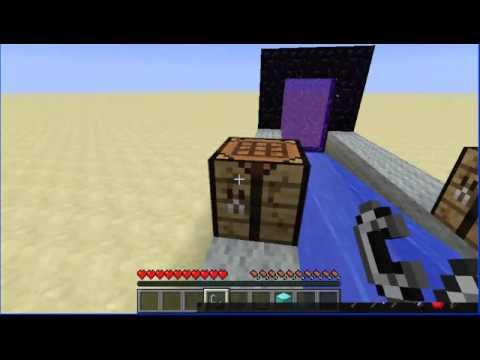Туториал.Как сделать генератор алмазов в minecraft