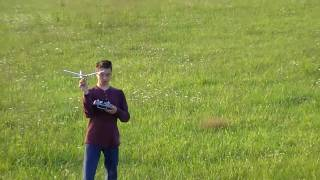 2010-08-23 Jon tests the Parkzone Ember 2 BNF (Bind and Fly) RC Ultra-Micro airplane.mp4
