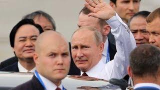 Những hình ảnh hiếm hoi khi Tổng thống PUTIN VỪA ĐẾN ĐÀ NẴNG DỰ APEC