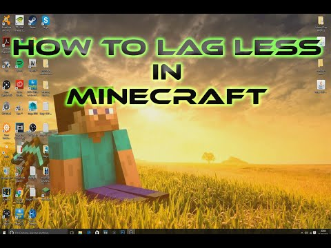 How to get less lag in Minecraft (2016)