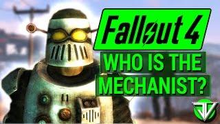 FALLOUT 4: Who Is The MECHANIST? (Automatron DLC Super Villain)