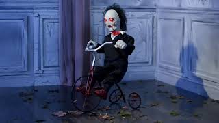 Animated Billy the Puppet Tricycle - Saw