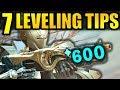 Destiny 2: 7 BIG LEVELING TIPS! - Get to 600 Power Fast!   Forsaken