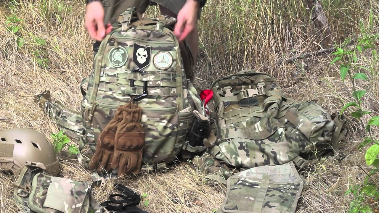 Fast Packing Gear Fast Pack Edc in Multicam