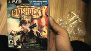 Unboxing (Abriendo) Bioshock Infinite PS3