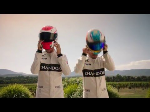 Chandon - Jenson Button & Fernando Alonso - A Friendly Race