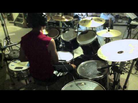 Telos by Between the Buried and me drum cover Patrick Dentico