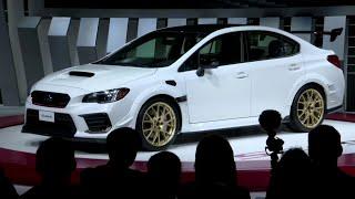 Subaru reveals limited-edition STI S209 at 2019 Detroit auto show