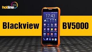 Blackview BV5000: обзор китайского защищенного смартфона с аккумулятором на 5000 мАч