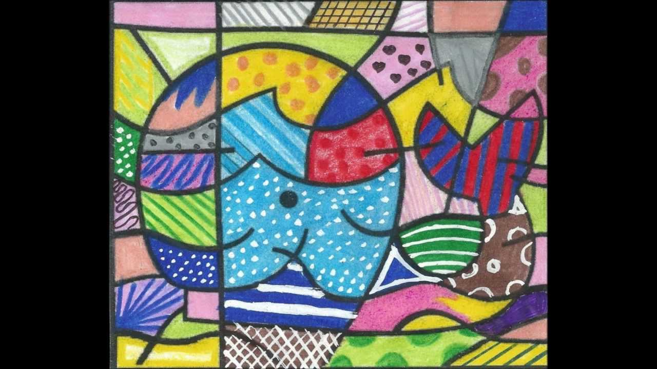 Técnica de pintura PopArt - Romero Britto - YouTube