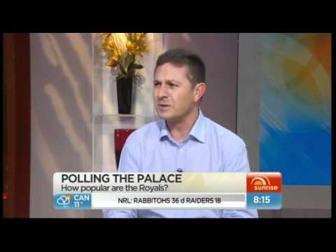 Support for monarchy soars in UK and  Australia - Channel 7's Sunrise debate 26 May 2012