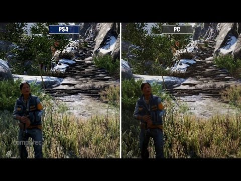 Far Cry 4 PC vs PS4 - Graphics Comparison