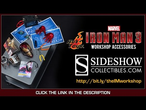 Iron Man 3 Hot Toys Workshop Accessories 1/6 Scale Set Review