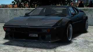 BMW M1 Replica [GTA IV - Vehicle Mod]