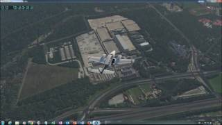 X Plane 11 VFR over The Netherlands