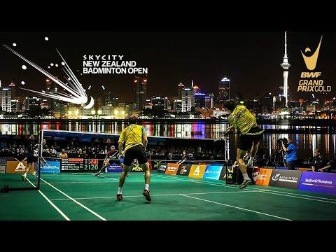 Skycity New Zealand Badminton Open 2015 Quarter Finals Court 2 video