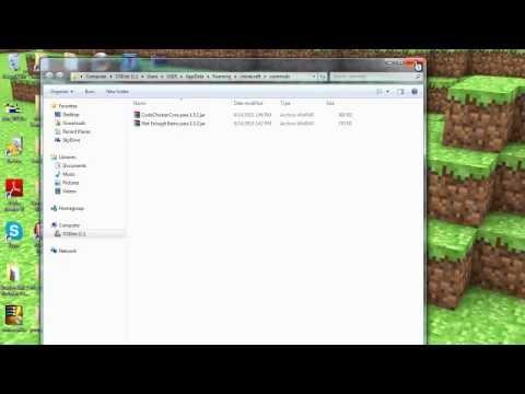 Tutorial como instalar Not Enough Items (NEI) 1.5.2