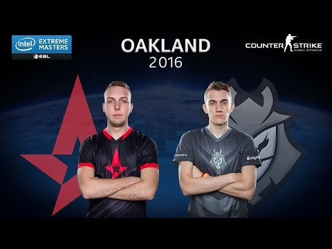 CS:GO - Astralis vs. G2 Esports [Nuke] - Group A - IEM Oakland 2016