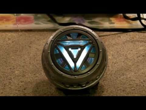 Iron Man 2 Arc reactor Mark VI Tutorial