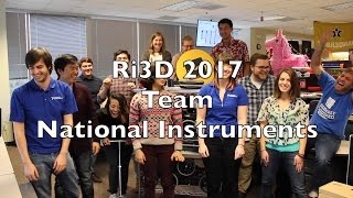 Meet Team National Instruments - Robot In 3 Days!