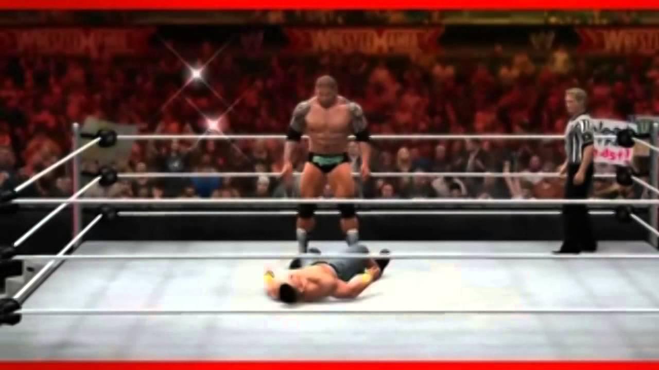 Wwe 2k14 Batista WWE2K14 Batista Finisher