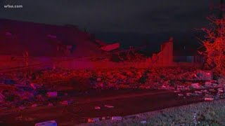 DFW weather: Tornado rips through Dallas business