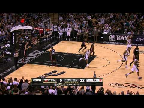 The Spurs Come Out Firing in Game 4